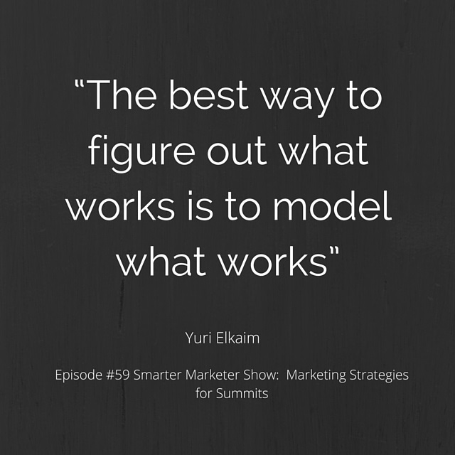 SMP 0059: Marketing Strategies for Summits