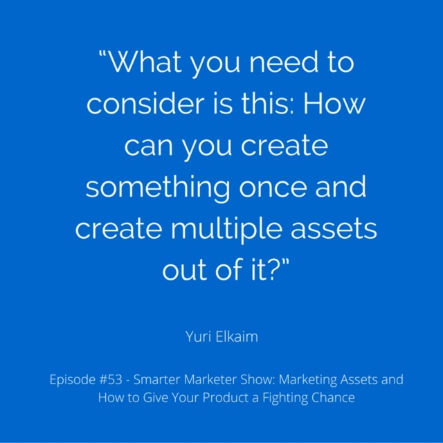 SMP 0053: Marketing Assets and How to Give Your Product a Fighting Chance