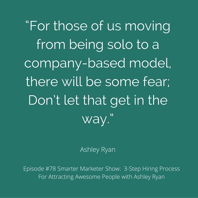 SMP 0078: 3-Step Hiring Process For Attracting Awesome People with Ashley Ryan