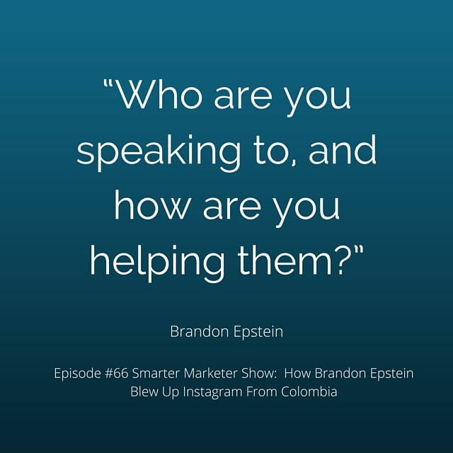 SMP 0066: How Brandon Epstein Blew Up Instagram From Colombia