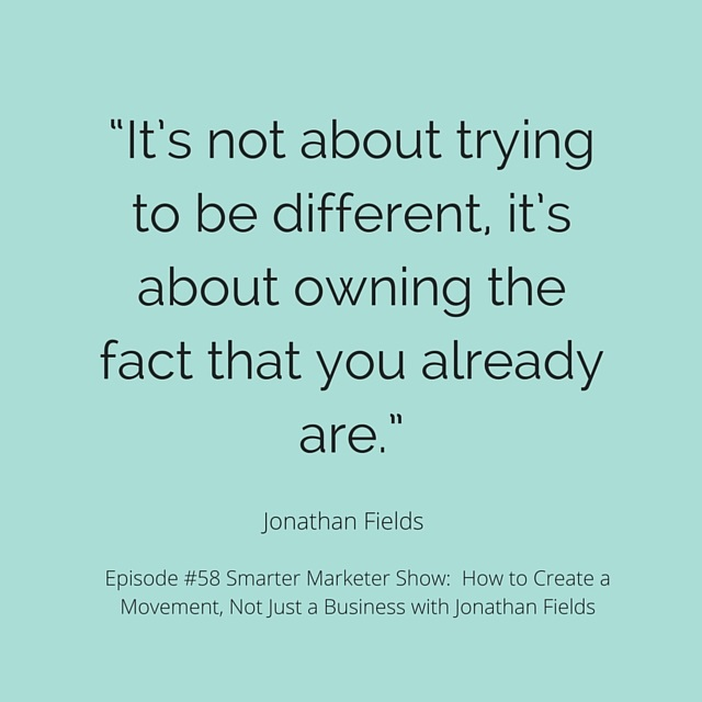 SMP 0058: How to Create a Movement, Not Just a Business with Jonathan Fields