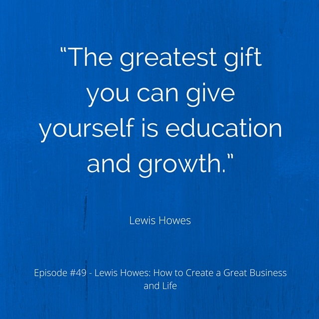 Lewis Howes quote