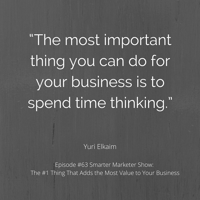 SMP 0063: The #1 Thing That Adds the Most Value to Your Business