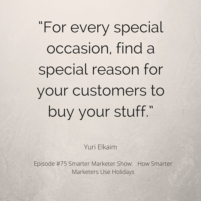 SMP 0075: How Smarter Marketers Use Holidays